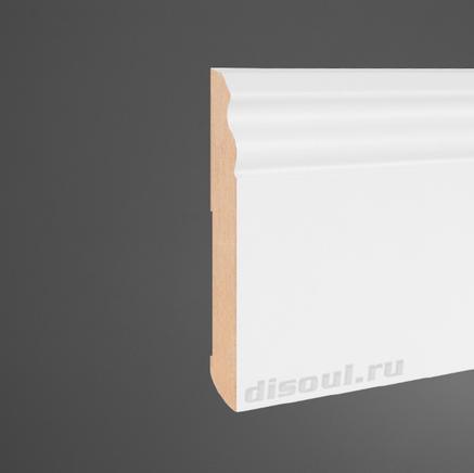 Плинтус МДФ белый + клей в подарок Pedross 5911