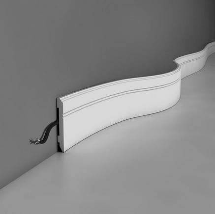 Плинтус напольный полиуретановый SX105 гибкий Orac Axxent SX 105 F