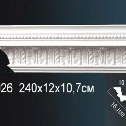 Карниз полиуретановый с орнаментом Perfect AA 026