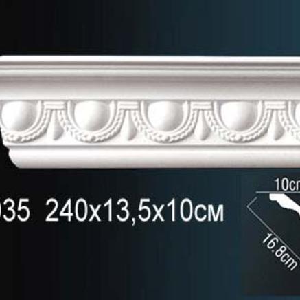 Карниз полиуретановый потолочный Perfect AA 035