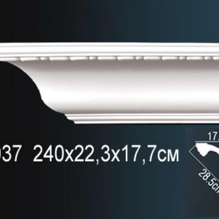 Карниз полиуретановый с орнаментом Perfect AA 037