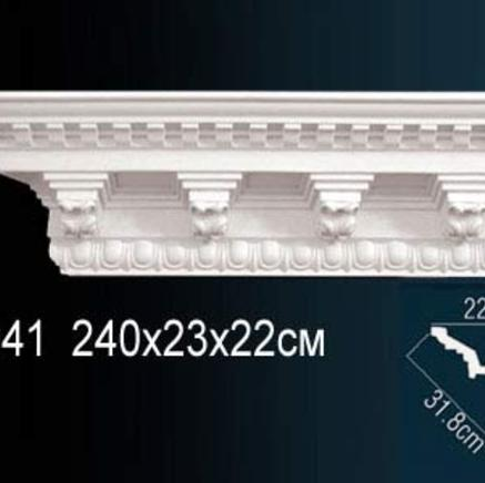 Карниз полиуретановый с орнаментом Perfect AA 041