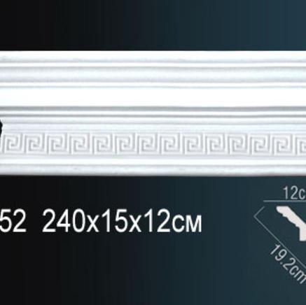 Карниз полиуретановый с орнаментом Perfect AA052