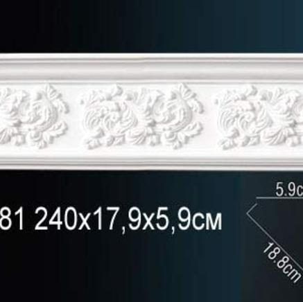 Карниз полиуретановый с орнаментом Perfect AA 081