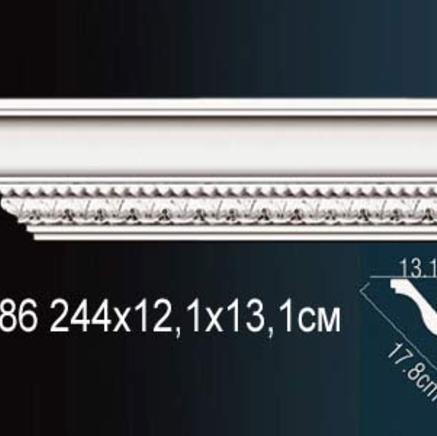 Карниз полиуретановый с орнаментом Perfect AA 086