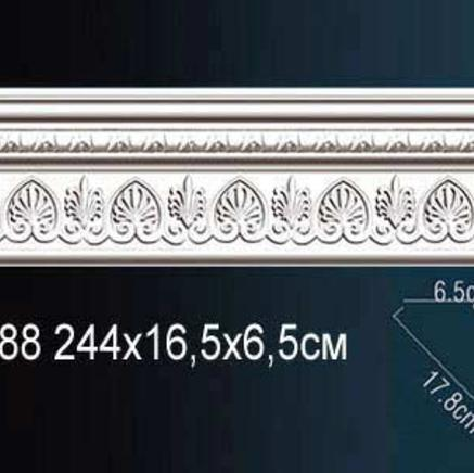 Карниз полиуретановый с орнаментом Perfect AA 088