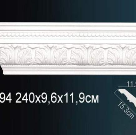Карниз полиуретановый с орнаментом Perfect AA 094