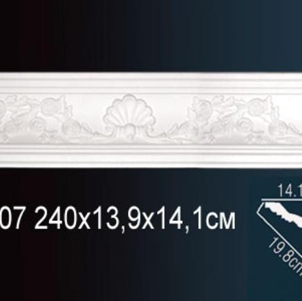 Карниз полиуретановый с орнаментом Perfect AA 107
