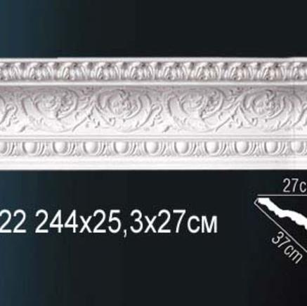 Карниз полиуретановый с орнаментом Perfect AA 122