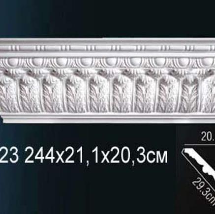 Карниз полиуретановый с орнаментом Perfect AA 123