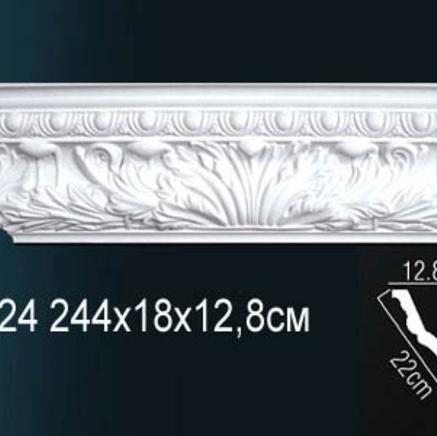 Карниз полиуретановый с орнаментом Perfect AA 124