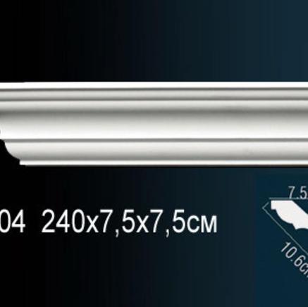 Карниз полиуретановый потолочный Perfect AB 104 клей в подарок