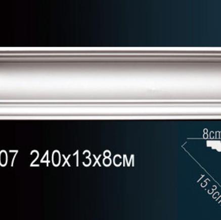 Карниз полиуретановый потолочный Perfect AB 107 клей в подарок