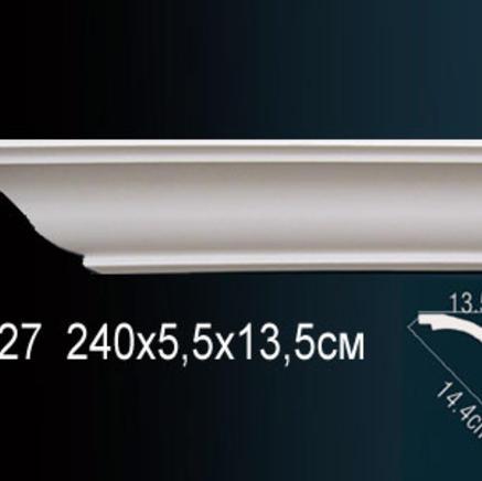 Карниз полиуретановый + клей в подарок Perfect AB 127