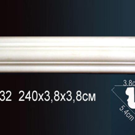 Карниз полиуретановый потолочный Perfect AB 132