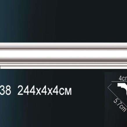 Карниз полиуретановый + клей в подарок Perfect AB 138
