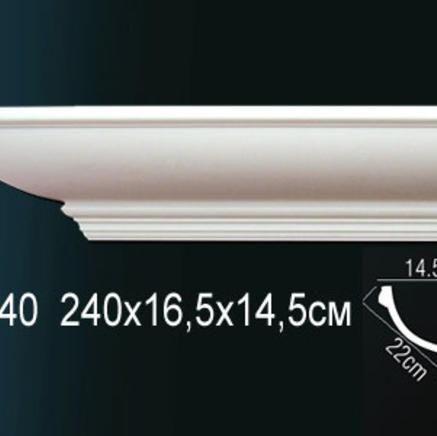 Карниз полиуретановый + клей в подарок Perfect AB 140