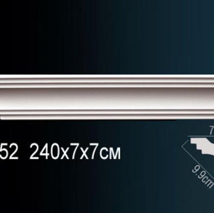 Карниз полиуретановый + клей в подарок Perfect AB 152