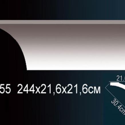Карниз полиуретановый потолочный Perfect AB 155