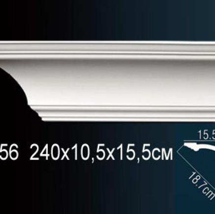 Карниз полиуретановый потолочный Perfect AB 156 клей в подарок