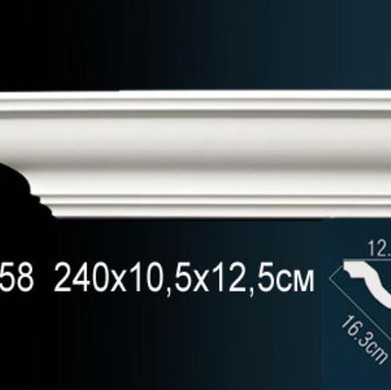 Карниз полиуретановый + клей в подарок Perfect AB 158