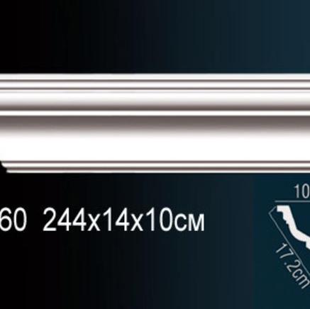 Карниз полиуретановый + клей в подарок Perfect AB 160