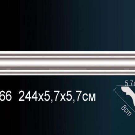 Карниз полиуретановый + клей в подарок Perfect AB 166