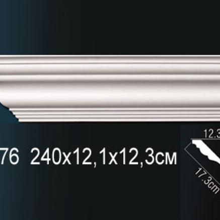 Карниз полиуретановый потолочный Perfect AB 176