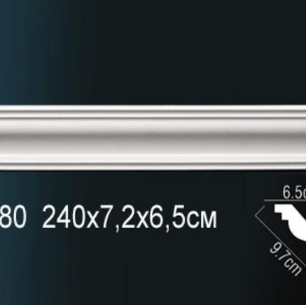 Карниз полиуретановый + клей в подарок Perfect AB 180