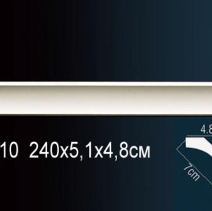 Карниз полиуретановый потолочный Perfect AB 210 клей в подарок