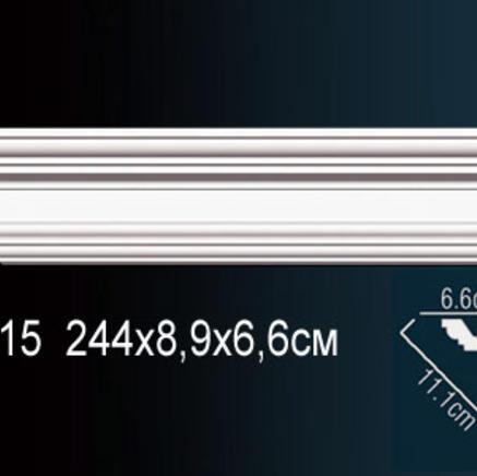 Карниз полиуретановый потолочный Perfect AB 215