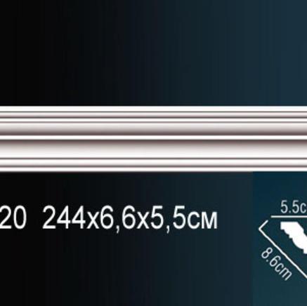 Карниз полиуретановый потолочный Perfect AB 220