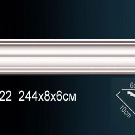 Карниз полиуретановый потолочный Perfect AB 222