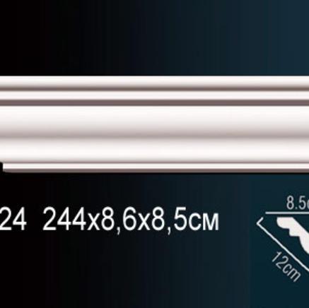 Карниз полиуретановый + клей в подарок Perfect AB 224