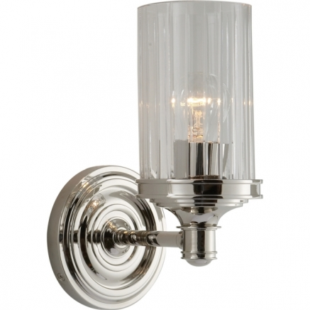 Бра для ванной Ava Single Sconce Visual Comfort & Co AH2200PN-CG