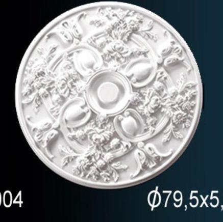 Потолочная розетка из полиуретана Perfect B 3004