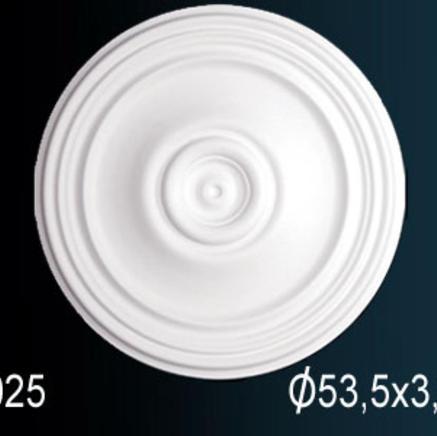 Потолочная розетка из полиуретана Perfect B 3025