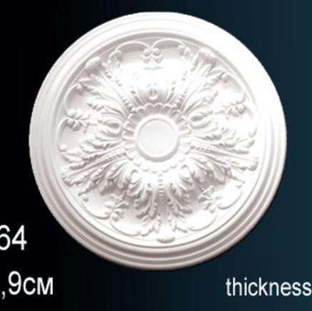 Потолочная розетка из полиуретана Perfect B 3064