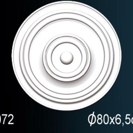 Потолочная розетка из полиуретана Perfect B 3072