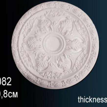 Потолочная розетка из полиуретана Perfect B 3082