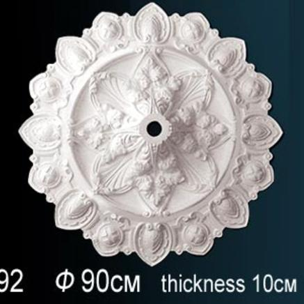 Потолочная розетка из полиуретана Perfect B 3092