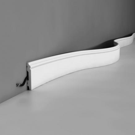Плинтус напольный полиуретановый SX165 гибкий Orac Axxent SX 165 F