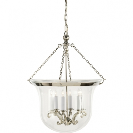 Светильник Country Large Bell Jar Visual Comfort & Co CHC2110PN