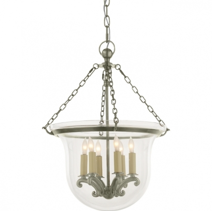 Люстра Country Bell Jar Lantern Visual Comfort & Co CHC2117AN