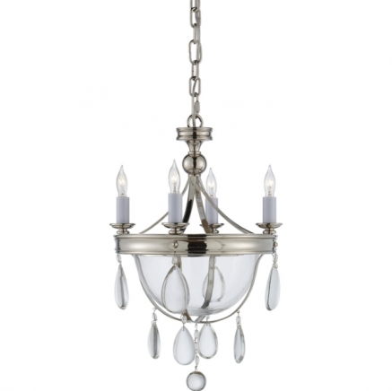 Люстра Devon Mini Glass Visual Comfort & Co CHC2138PN-CG