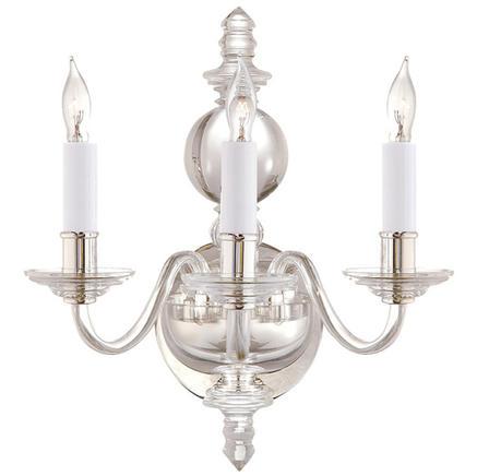 Бра настенное George II Triple Visual Comfort & Co CHD 1154CG/PN