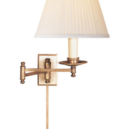 Бра настенное Dorchester Swing Arm Visual Comfort & Co CHD5101AB-SC