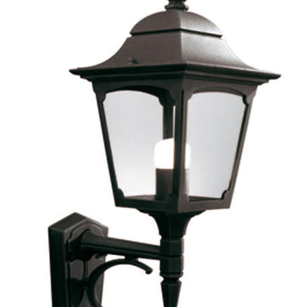 Бра Chapel Up Wall Lantern Black  Chapel CP1 BLACK