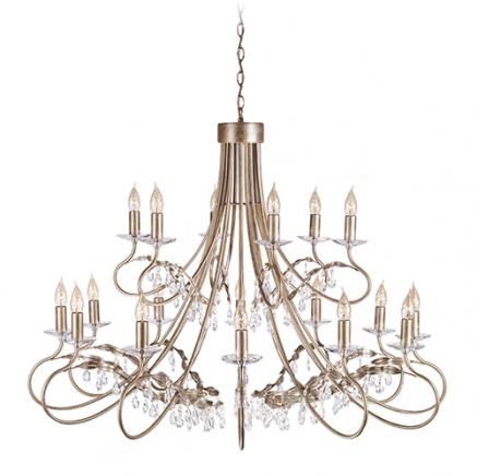 Светильник подвесной Christina CRT18 SIL/GOLD
