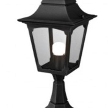 Фонарь-пьедестал  Chapel Pedestal Lantern Black  Chapel CP4 BLACK